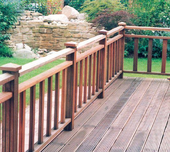 Деревянная терраса - шаг за шагом
