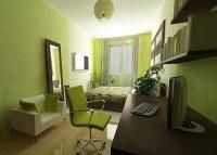 Как обставить неширокую длинноватую комнату