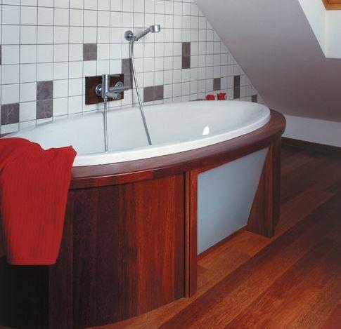 Облицовка в ванной комнате