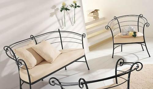 красивая кованая мебель