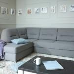 Угловой диван — функциональная мебель для гостиной