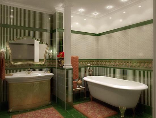 отделочные материалы для ванной
