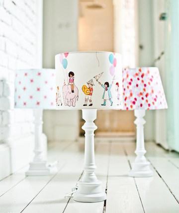 лампа в детскую комнату