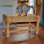 Как устранить вздутия с поверхности фанерной мебели?