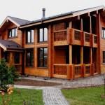 Мода на деревянные постройки