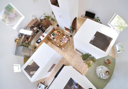 Круглый дом-лабиринт в Окадзаки