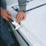 Как удалить слой герметика с поверхности?