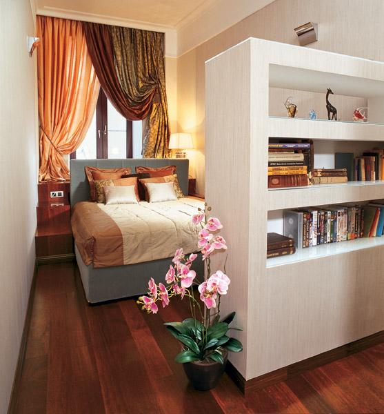 Планировка узкой спальни